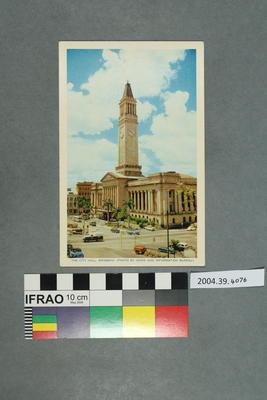 Postcard: The City Hall