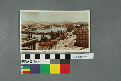 Postcard: Victoria and Grey Street Bridges