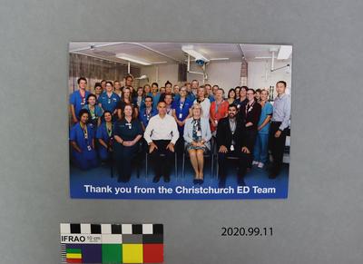 Card: Christchurch ED Team
