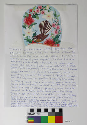 Tribute: Message with Fantail