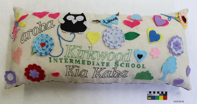 Tribute: Kirkwood School Pillow