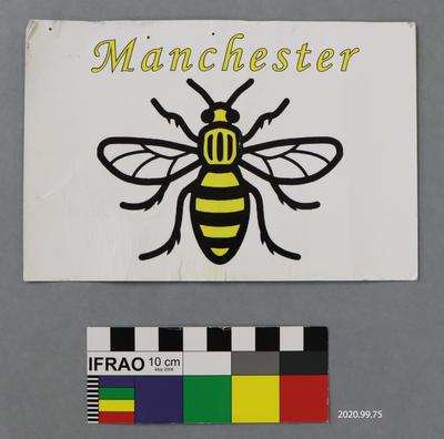 Postcard: Manchester Bee