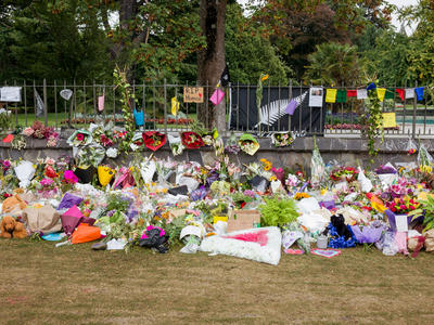 Photograph: Tributes Panorama