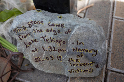 Photograph: Tribute Stone