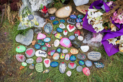 Photograph: Painted Stones