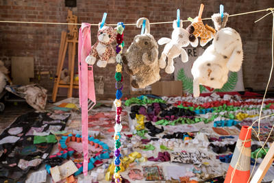 Photograph: Drying Tributes