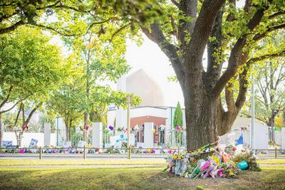 Photographs: Mosque Tributes