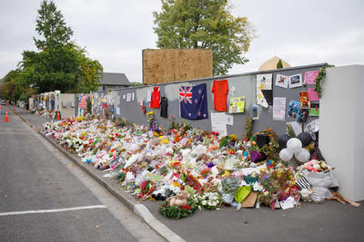 Photograph: Tributes