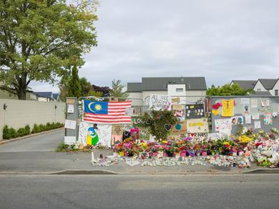 Photograph: Tributes Panorama