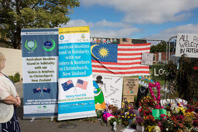 Photograph: Tribute Banners