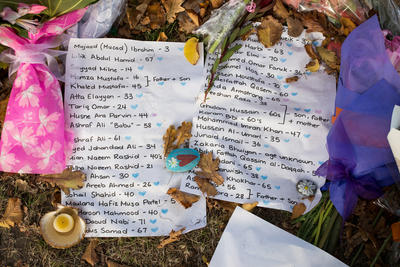 Photograph: Victims' Names
