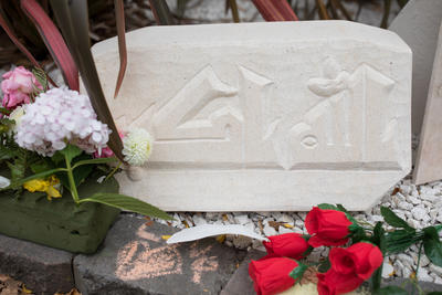 Photograph: Carved Stone Tribute