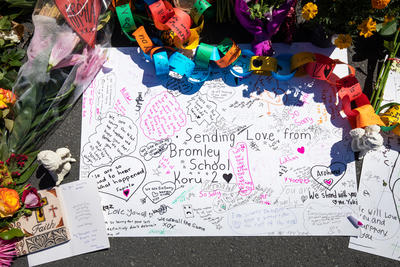 Photograph: Bromley School Messages