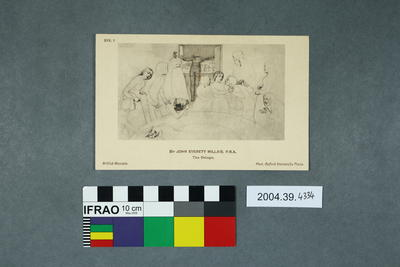 Set of Postcards Illustrating Drawings By The Pre-Raphaelites; 2004.39.4334