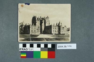 Postcard of Glamis Castle