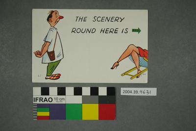 Postcard: The Scenery