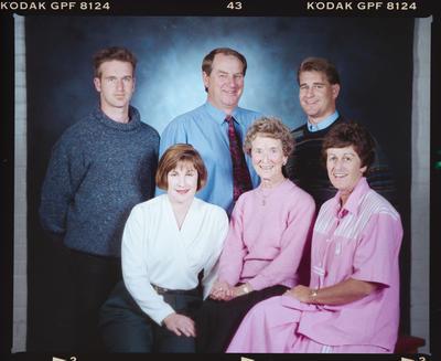 Negative: Penman Family Portrait