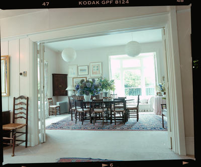 Negative: Clyde Road House Interior