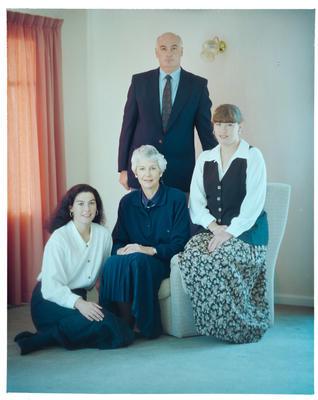 Negative: Culhane Family Portrait