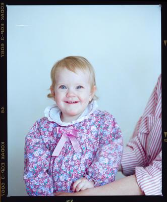 Negative: Miss Smith Passport Photo