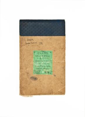 Diary: Frederick J. Hooper, letters, Terra Nova