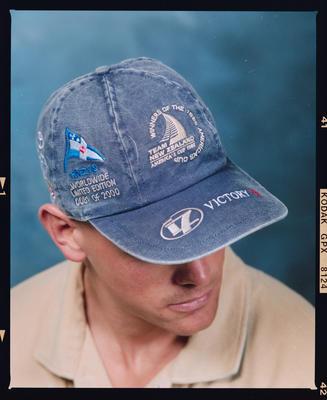 Negative: Man Wearing Cap