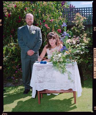 Negative: Simmonds-Jones Wedding