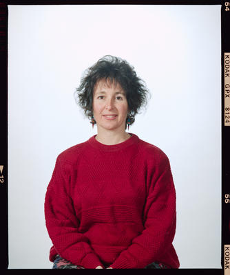 Negative: Jenny Hinden-Miller Portrait