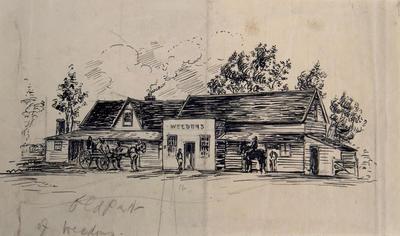 Drawing: Weedons Hotel