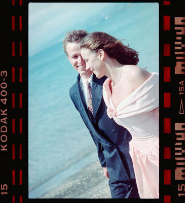 Negative: Unnamed Man And Woman On Beach
