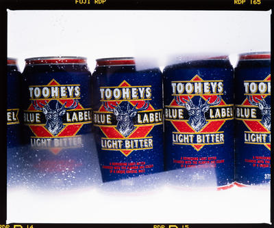 Negative: Cans Of Tooheys Light Beer
