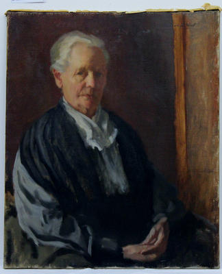 Painting: Portrait of the artist's mother