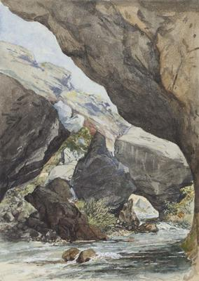 Painting: Gorge of River Porter
