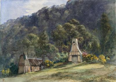 Painting: Old Homestead, Raincliff