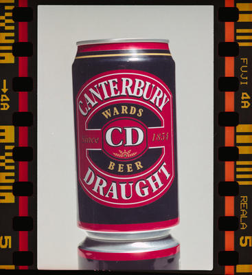 Negative: Can Of CD Beer