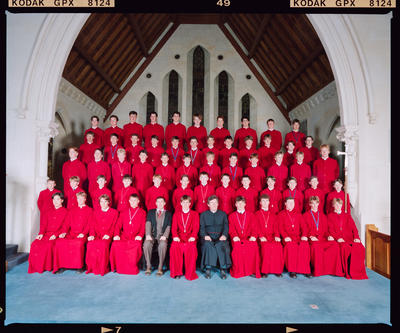 Negative: Christ's College Choir 1995