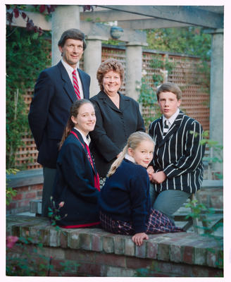 Negative: Moody Family Portrait