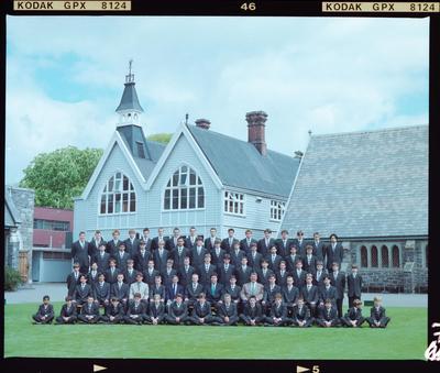 Negative: Christ's College's Corfe House 1996