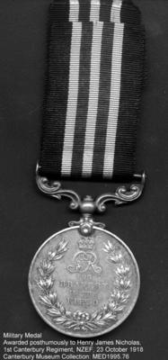 Medal: The Military Medal 1916 (1st type)