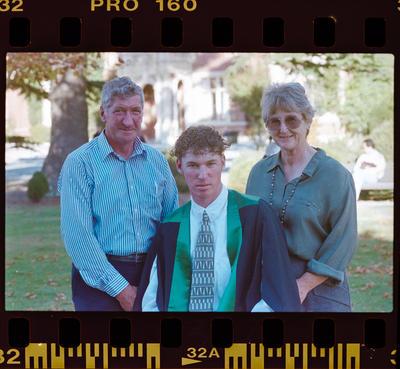 Negative: Lincoln College Graduation 1996