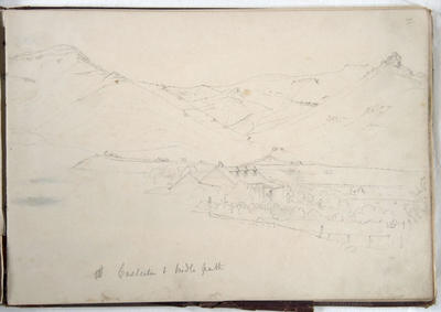 Pencil Sketch: Casterton and Bridle Path