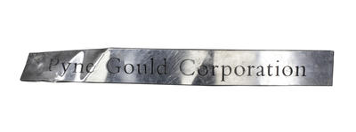 Sign: Pyne Gould Corporation