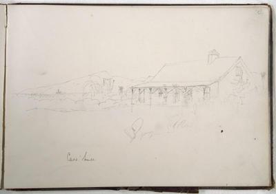 Pencil Sketch: Cass' House
