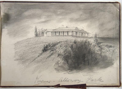 Pencil Drawing: Kinross - Alloway Park