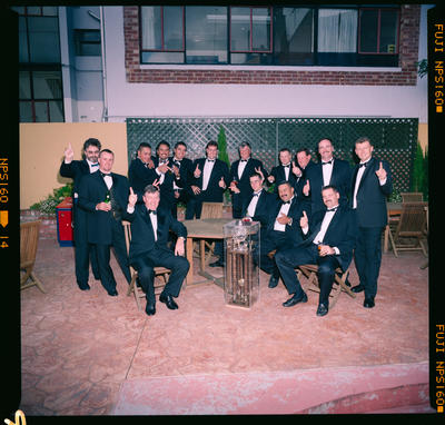 Negative: Fifteen Men In Tuxedos