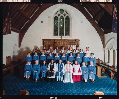 Negative: St Barnabus Church Choir