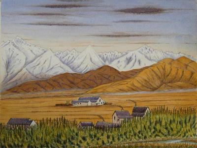 Painting: Clayton Station, G I Hamilton