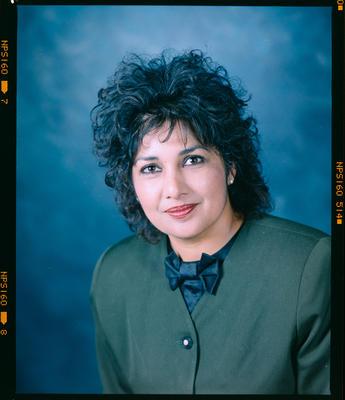 Negative: Premilla Sharma Portrait
