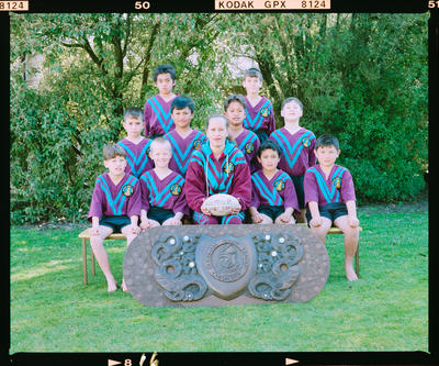 Negative: Burnham Rugby League Team 1997