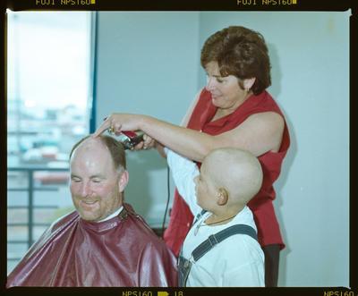 Negative: Child Cancer Haircut BJ Ball